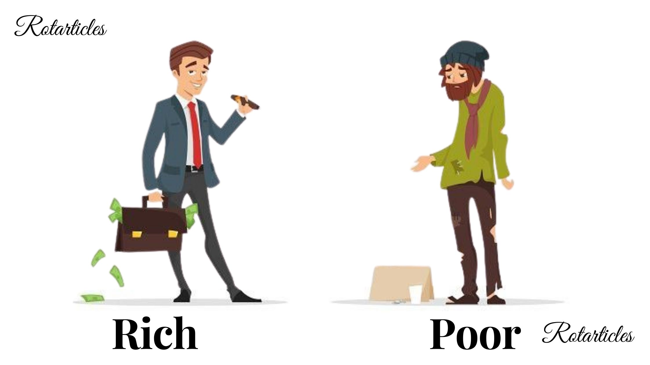 The Rich man and The Poor man