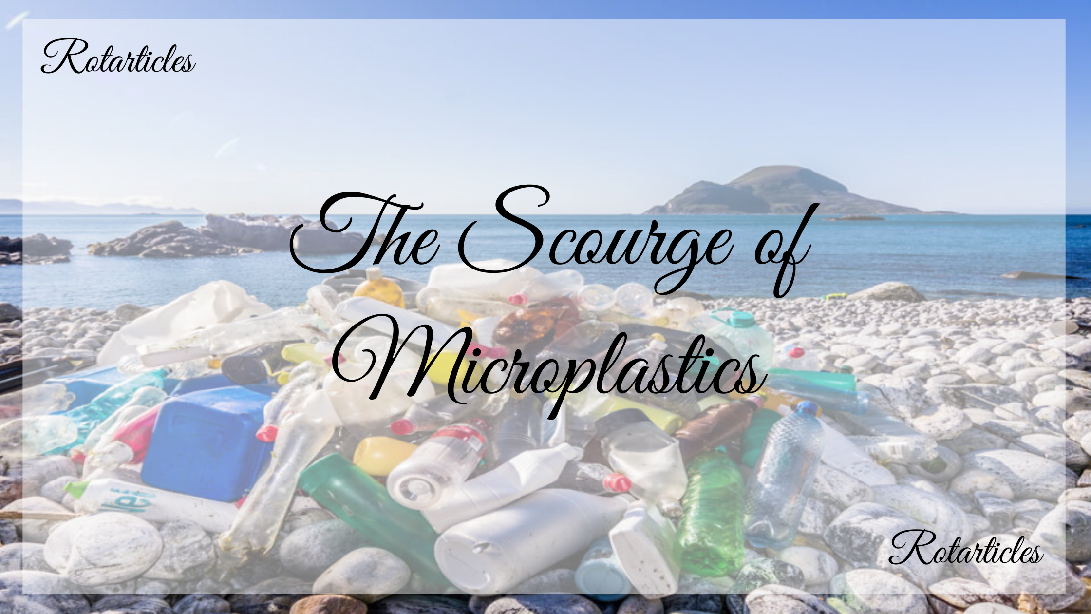 The Scourge of Microplastics