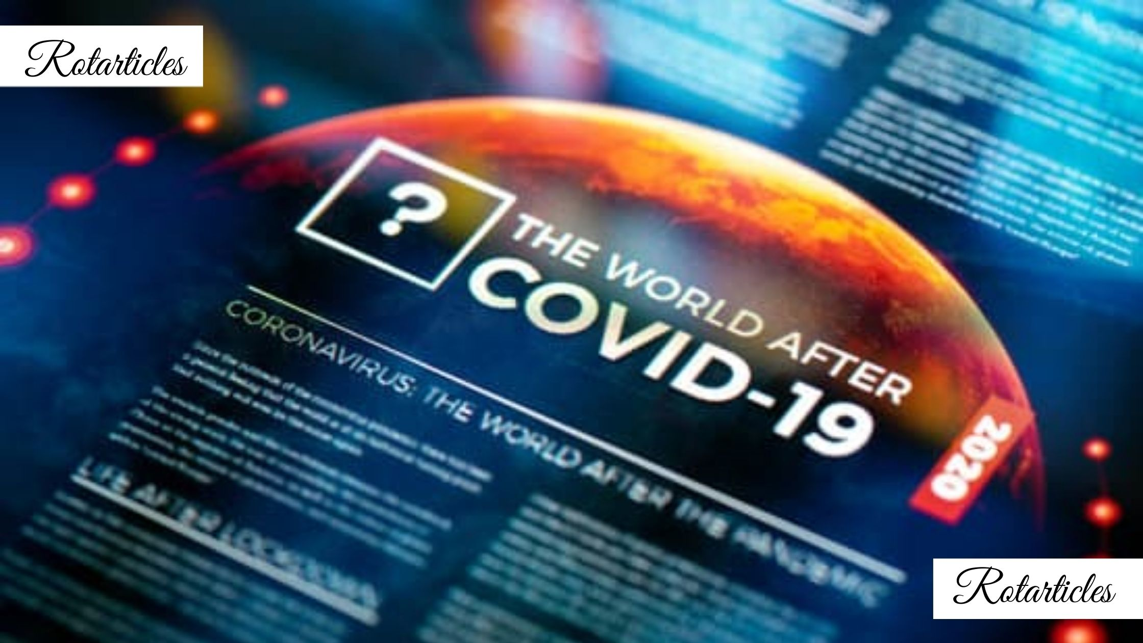 World After The Pandemic Covid 19